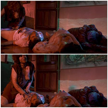 Woman rapes a dying man on top
