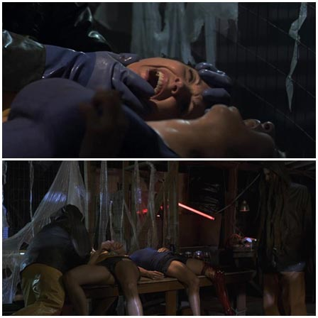 Death fetish scene #355 (torture, cut off, drowning)