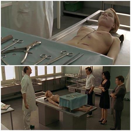 Death fetish scene #361 (naked dead woman, morgue dead body)