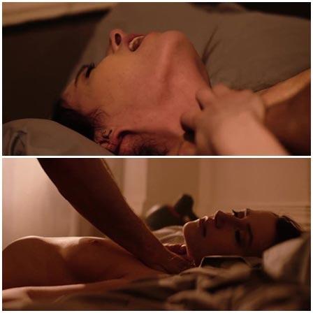 Death fetish scene #362 (hanging, strangling, naked dead woman)