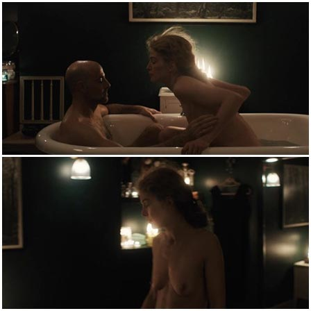 Naked Rosamund Pike @ A Private War (2018) Nude Scenes