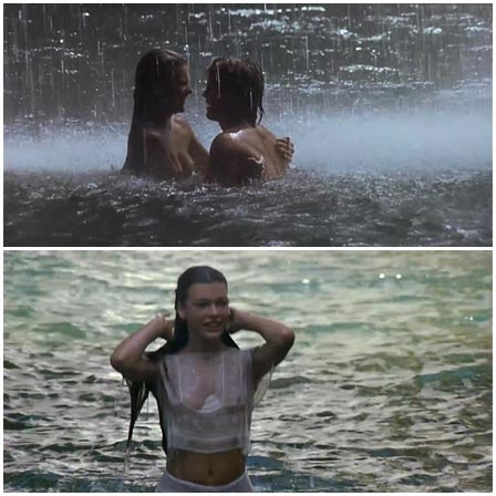 Naked Milla Jovovich @ Return to the Blue Lagoon (1991) Nude Scenes
