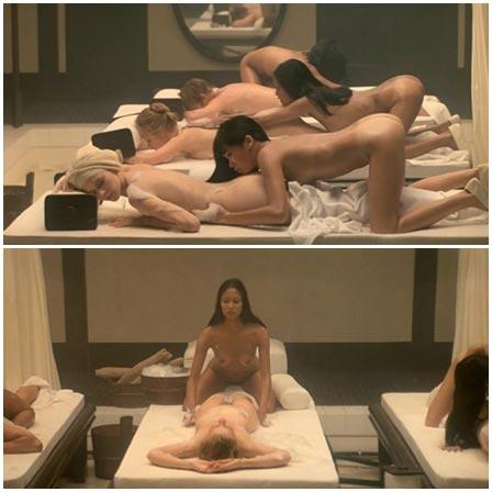 Naked Sylvia Kristel, Laura Gemser, Catherine Rivet @ Emmanuelle 2: The Anti-Virgin (1975) Nude Scenes
