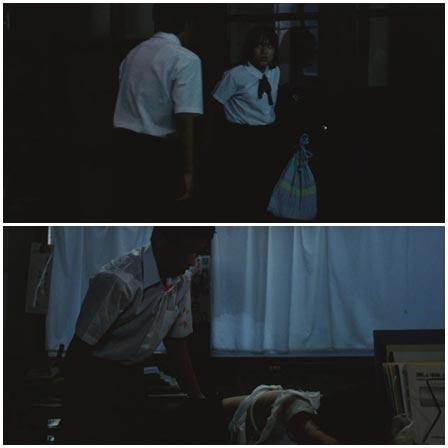 Rape attempt a classmate girl in school building