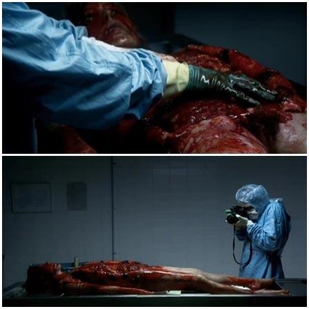 Death fetish scene #370 (naked dead woman, morgue dead body)