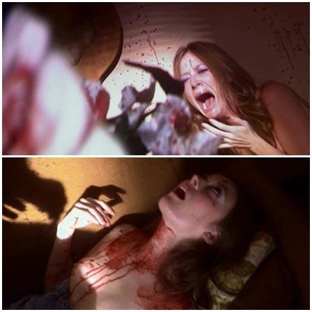 Death fetish scene #371 (strangled, naked dead woman)