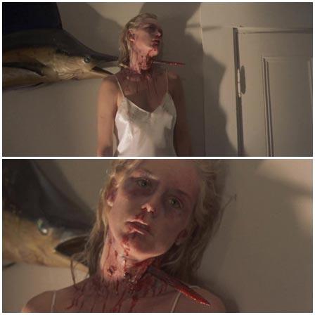 Death fetish scene #379 (impale, dead woman)