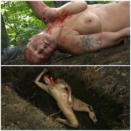 Death fetish scene #380 (naked dead woman)